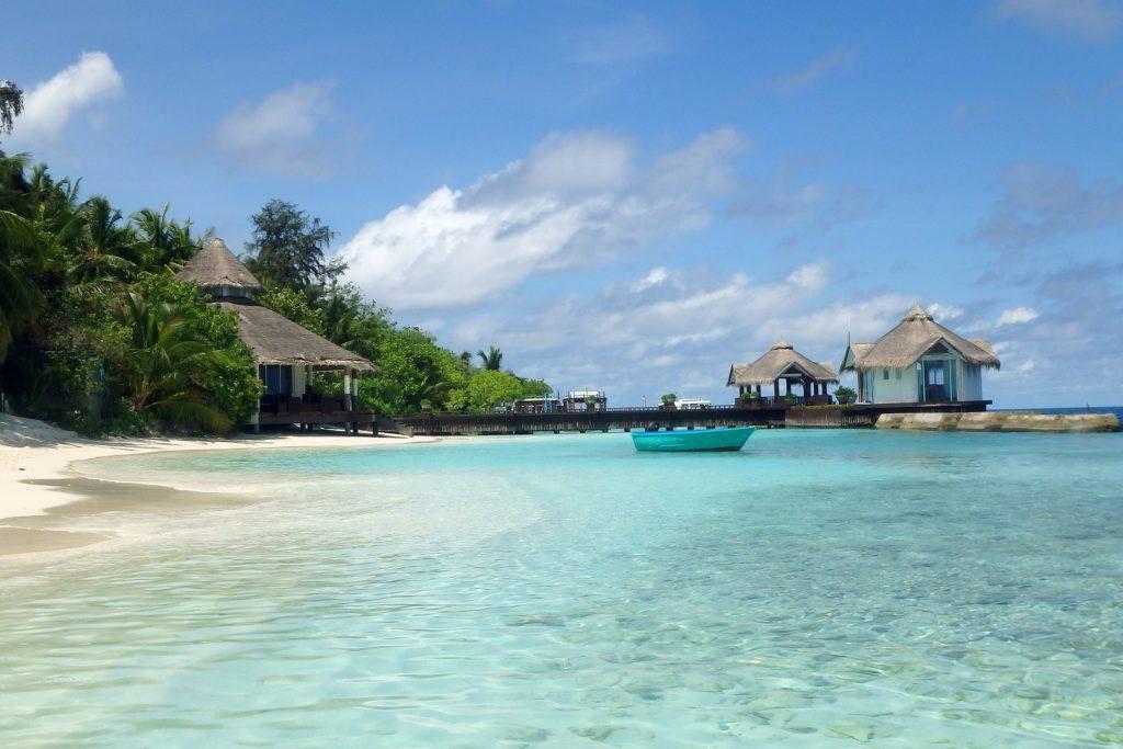 De Malediven. Foto door BKD van Pixabay