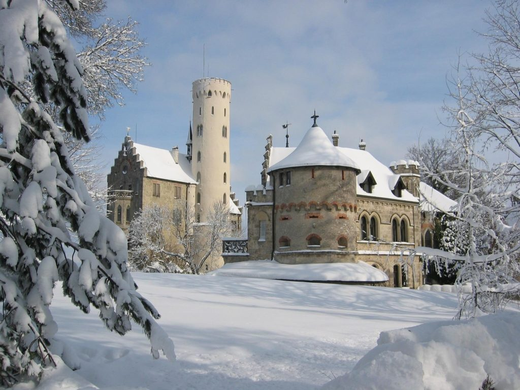 Kasteel van Liechtenstein. Foto door sunflair van Pixabay