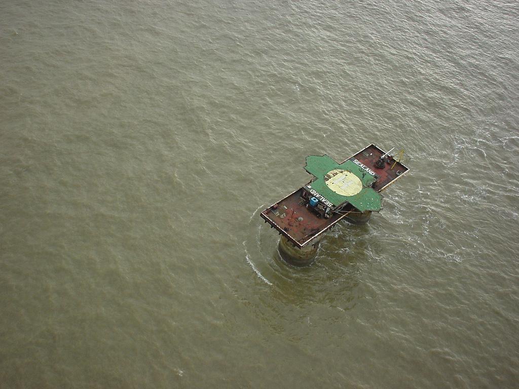 Sealand. Foto van Flickr